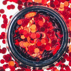 Камифубики Hanami Кружки, красный, 3мм