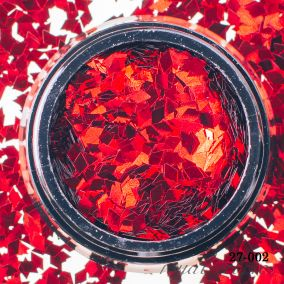 Камифубики Hanami Ромбики, красный, 2мм