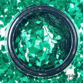Камифубики Hanami Ромбики, зелёный, 2мм