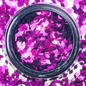 Камифубики Hanami Ромбики, фиолетовый, 2мм