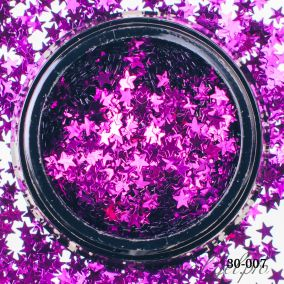 Камифубики Hanami Звезда, фиолетовый, 3мм