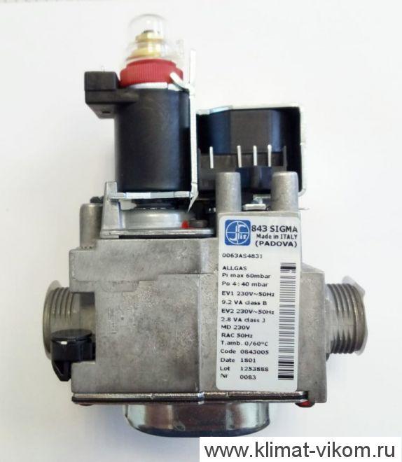 Газовый клапан (3/4) (KLO 20-50) арт.0020025317