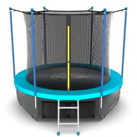Батут с внутренней сеткой и лестницей Evo Jump Internal 6ft Wave