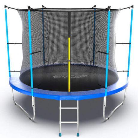 Батут с внешней сеткой и лестницей Evo Jump Internal 10ft Blue