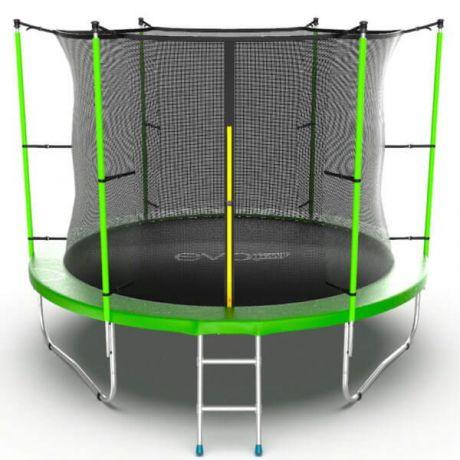 Спортивный батут с лестницей Evo Jump Internal 10ft Green