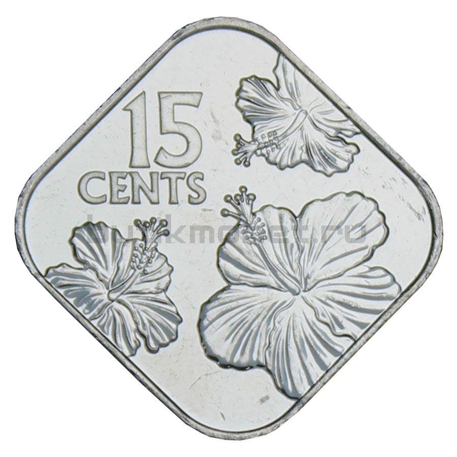 15 центов 2018 Багамы