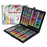 Набор для рисования в чемодане Super Mega Art Set 168 предметов (цвет черный)_1