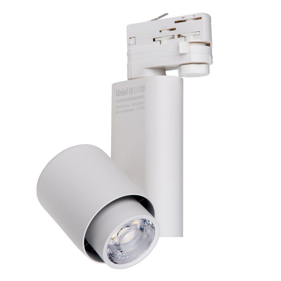 Трековый светодиодный светильник (UL-00004075) Uniel ULB-M09H-36W/4000К White