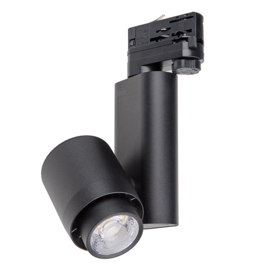 Трековый светодиодный светильник (UL-00004076) Uniel ULB-M09H-50W/4000К Black
