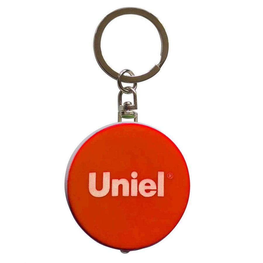 Фонарь-брелок светодиодный (UL-00004099) Uniel Standard Mini от батареек 47х40 S-KL022-T Orange