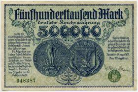 Польша. Нотгельд г. Цоппот (Сопот) 500000 марок 1923