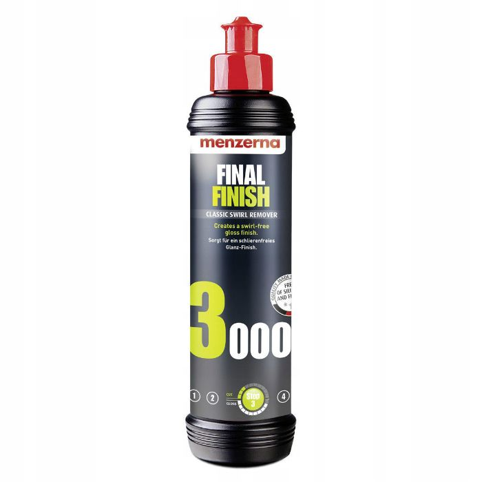Menzerna FF3000 Антиголограммная полировальная паста, 250мл.