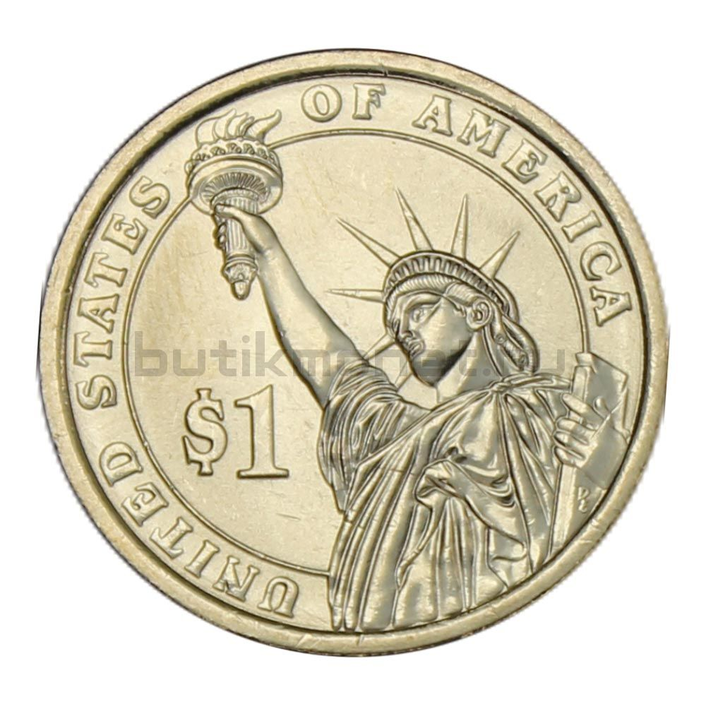 1 доллар 2008 США Мартин Ван Бюрен (Президенты США)