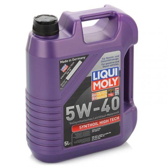 Моторное масло  LiquiMoly Synthoil HiTech 5W40 A3/B4  5л
