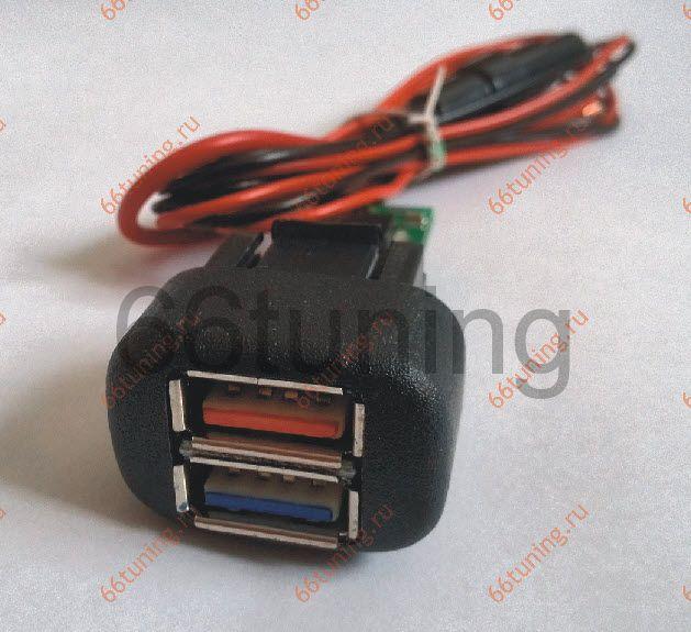 Розетка-USB для ВАЗ 2114,Chevrolet Niva