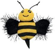 KONG Игрушка для кошек Better Buzz Пчела с кощачьей мятой