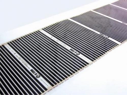 Теплый пленочный пол Qterm 400 Вт/м2, ширина 0.5 м