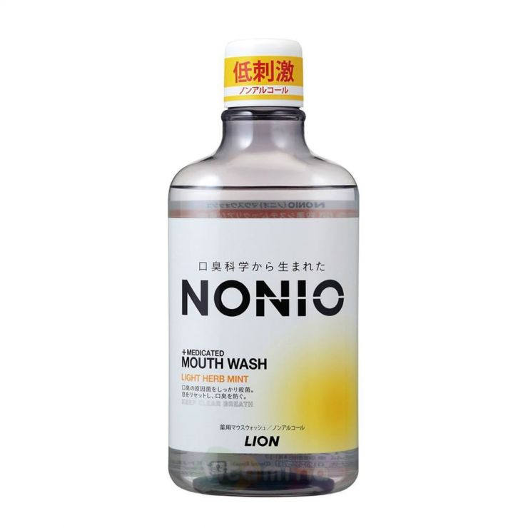 """Lion Зубной ополаскиватель """"Nonio"""" с длительной защитой от неприятного запаха, 600 мл"""