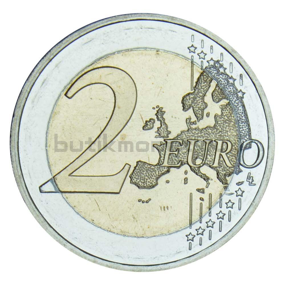 2 евро 2019 Германия Падение Берлинской стены J