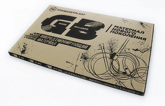StP GB 4 лист 0,75х0,47 м. Упаковка 5 листов