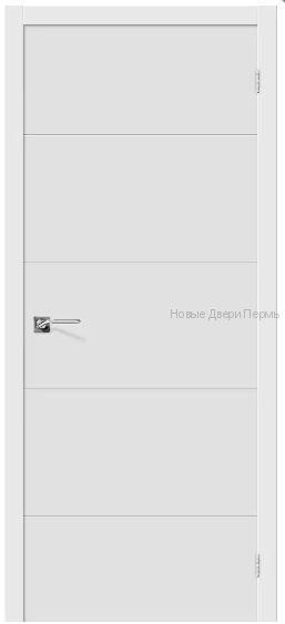 """""""Граффити-2 """" П-23 Белый Дверь межкомнатная ПВХ"""