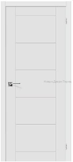 """""""Граффити-4 """" П-23 Белая дверь межкомнатная ПВХ"""