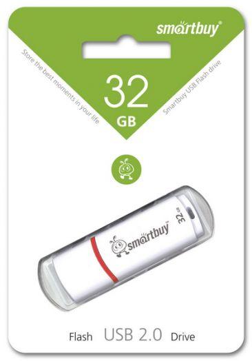 USB накопитель 32GB Crown White NO LOGO
