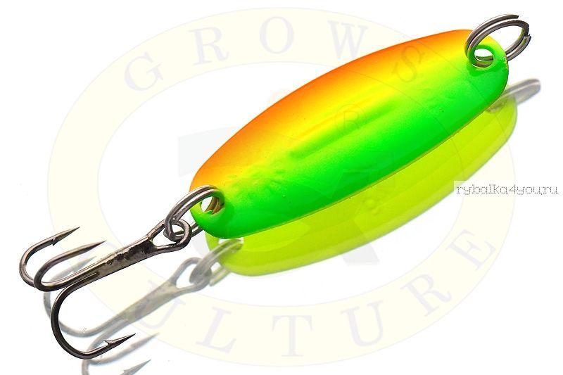 Блесна колеблющаяся Grows Culture Will'mans  4гр / цвет: 014А