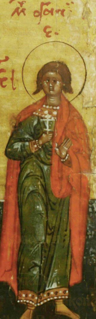 Икона Агапий Газский (Кесарийский) мученик