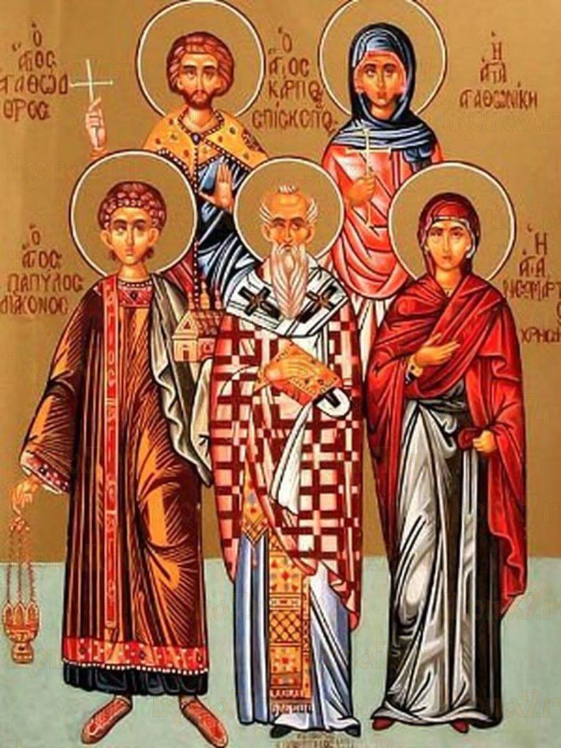 Икона Агафодор Сардийский мученик