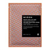Маска листовая для лица антивозрастная Mizon Enjoy Vital Up Time Anti Wrinkle Mask