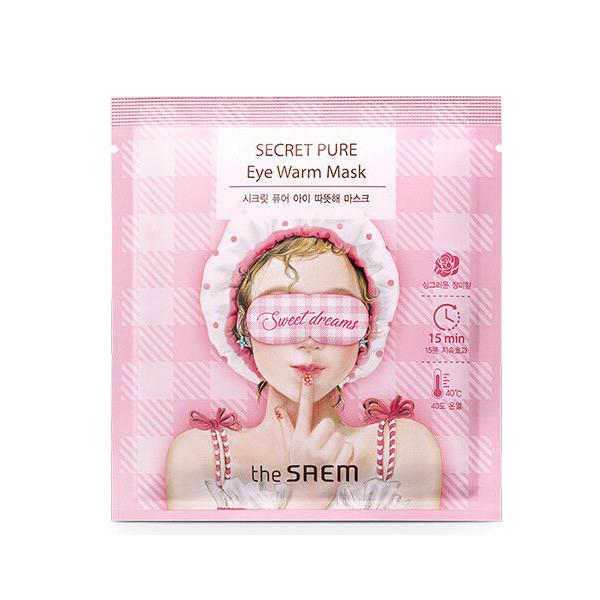Тепловая маска для глаз The Saem Secret Pure Eye Warm Mask (1 штука)