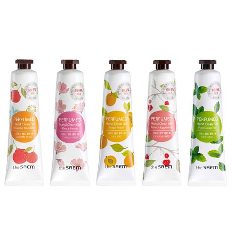 Очищающий парфюмированный гель для рук The Saem Perfumed Hand Clean Gel