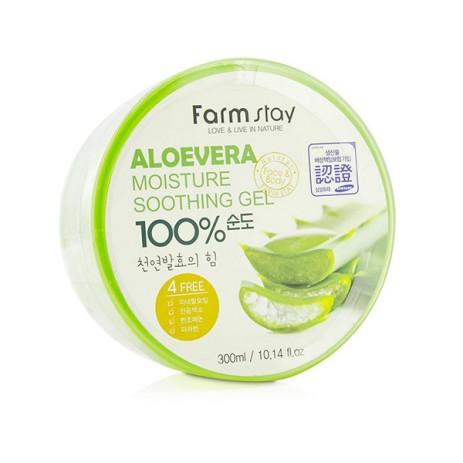 Средство с алое Farm Stay Moisture Soothing Gel Aloe Vera