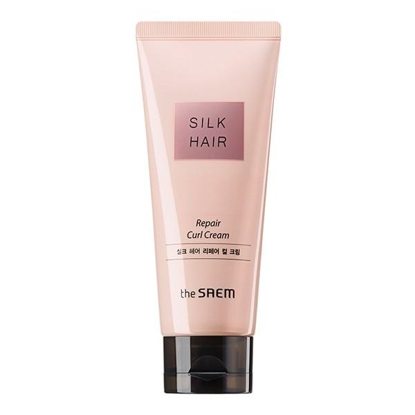 Крем для волос The Saem Silk Hair Argan Curl Cream