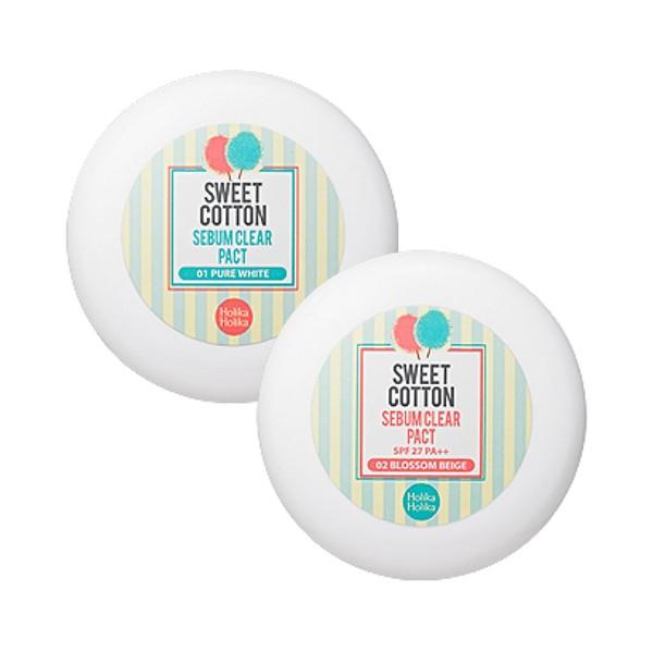 Пудра Holika Holika Sweet Cotton Sebum Clear Pact