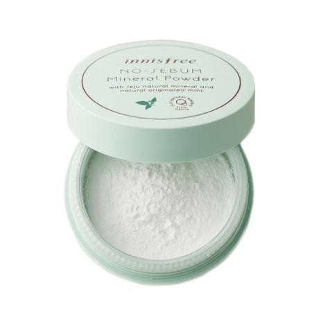Матирующая рассыпчатая пудра Innisfree No Sebum Mineral Powder
