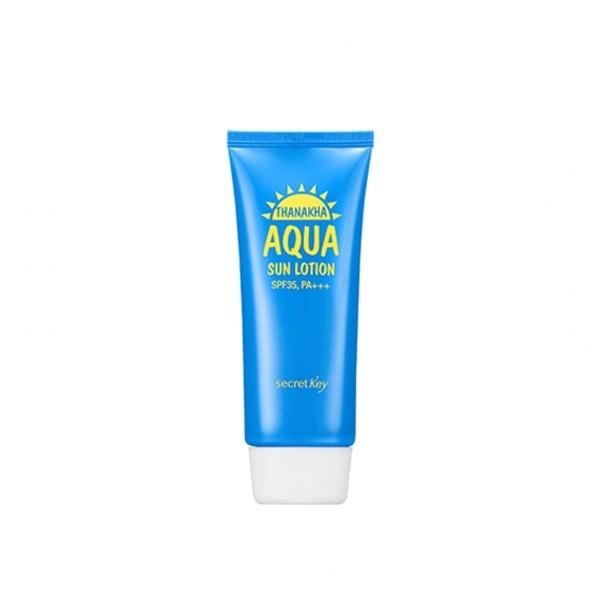 Солнцезащитный крем Secret Key Thanakha Aqua Sun Lotion SPF35PA+++
