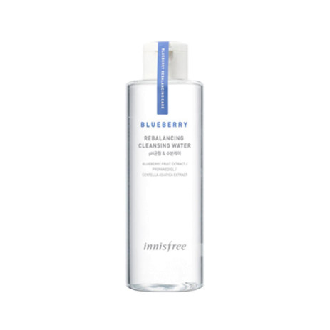 Очищающая вода с черникой Innisfree Blueberry Rebalancing Cleansing Water
