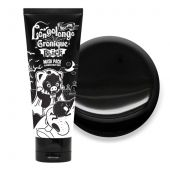 Черная маска-плёнка с древесным углем Hell-Pore Longolongo Gronique Black Mask Pack