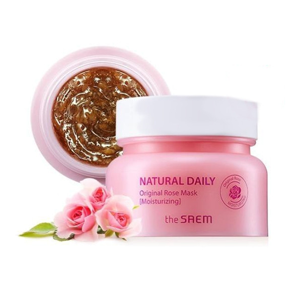 Маска для лица с лепестками роз Saem Natural Daily Original Rose Mask