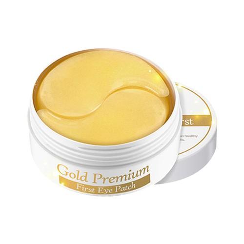 Гидрогелевые патчи для глаз Secret Key Gold Premium First Eye Patch