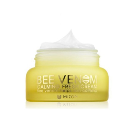 Крем для лица с прополисом и пчелиным ядом Mizon Bee Venom Calming Fresh Cream