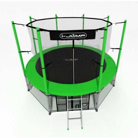 Батут для дачи i-Jump 12ft green
