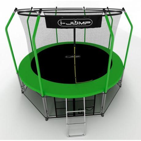 Батут для дачи i-Jump 8ft green