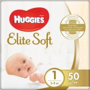 Подгузник Huggies Elite Soft 1 (3-5кг), 50 шт./Huggies