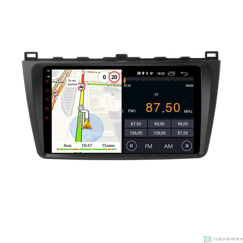 Parafar PF012LTX для Mazda 6 2007-2012 на Android 8.1.0 Штатная магнитола