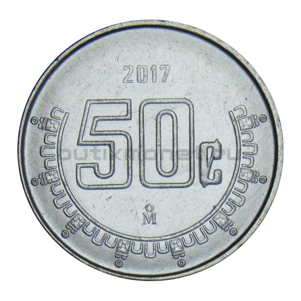50 сентаво 2017 Мексика
