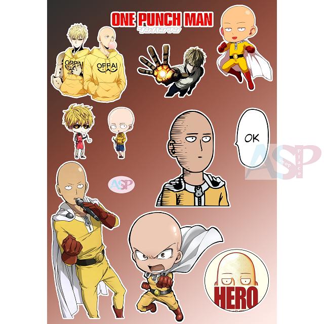 Стикеры One Punch Man