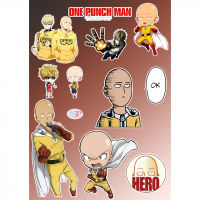 Стикеры One Punch Man